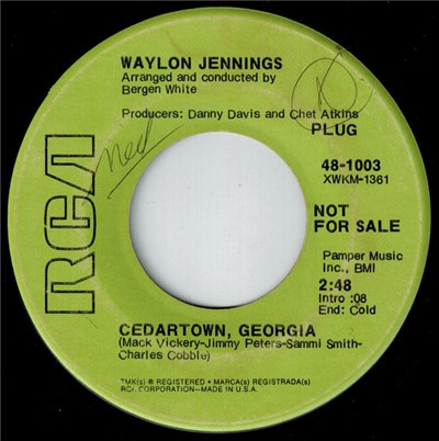 Waylon Jennings - Cedartown, Georgia album mp3