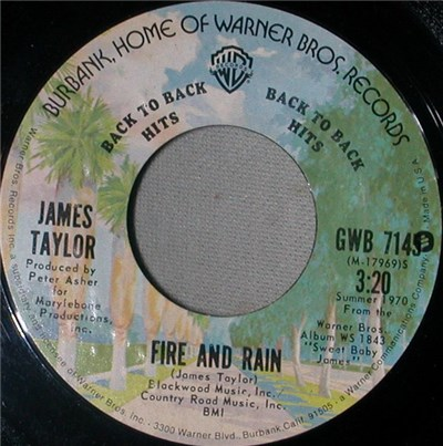 James Taylor - Fire And Rain / Country Road album mp3