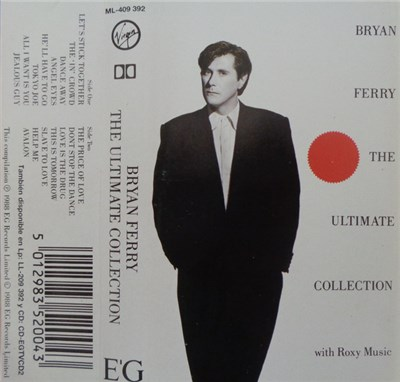 Bryan Ferry And Roxy Music - Bryan Ferry - The Ultimate Collection With Roxy Music album mp3