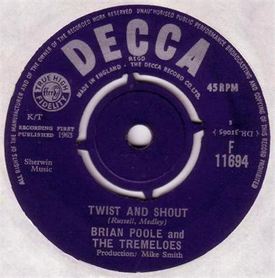 Brian Poole And The Tremeloes - Twist And Shout album mp3