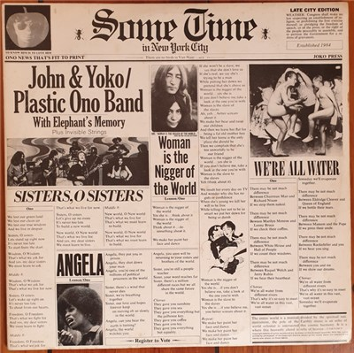 John & Yoko / Plastic Ono Band With Elephant's Memory And Invisible Strings - Some Time In New York City album mp3