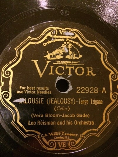 Leo Reisman And His Orchestra, Jack Hylton And His Orchestra - Jalousie (Jealousy) / O Cara Mia album mp3