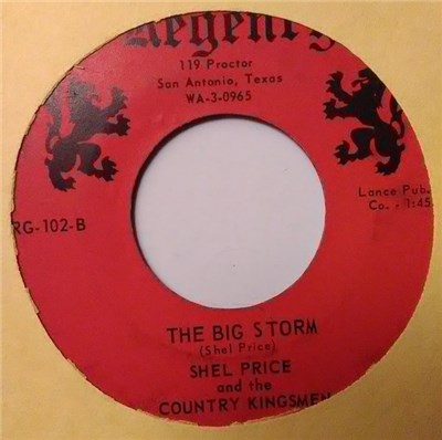 Shel Price And The Country Kingsmen - San Antonio Moon / The Big Storm album mp3