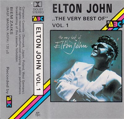 Elton John - The Very Best Of, Vol. 1 album mp3