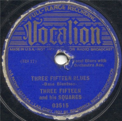 Three Fifteen And His Squares - Three Fifteen Blues / Saturday Night On Texas Avenue album mp3