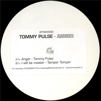 Tommy Pulse - Anger album mp3