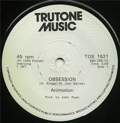 Animotion - Obsession album mp3