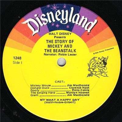 Various - Walt Disney Presents The Story Of Mickey & The Beanstalk album mp3