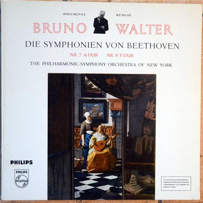 Beethoven, New York Philharmonic, Bruno Walter - Symphony No. 7 In A / Symphony No. 8 In F album mp3