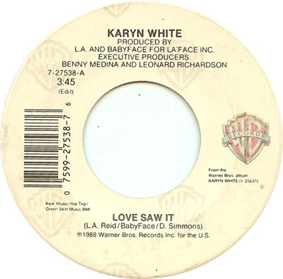 Karyn White - Love Saw It album mp3