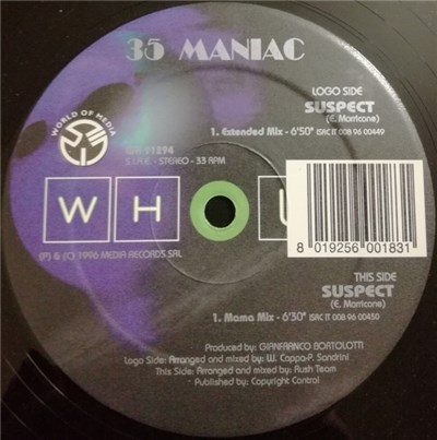 35 Maniac - Suspect album mp3
