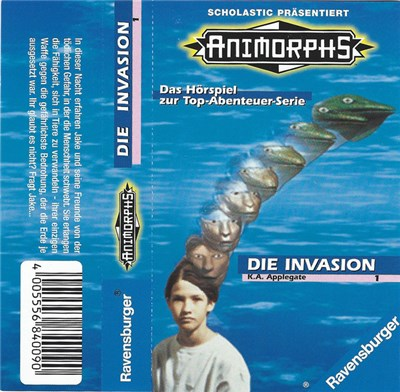 K.A. Applegate - Die Invasion album mp3
