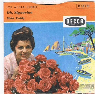 Lys Assia - Oh, Signorina / Mein Teddy album mp3