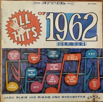 Jack Pleis - All The Hits 1962 (Instrumentals) album mp3