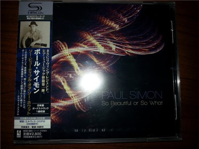 Paul Simon - So Beautiful Or So What album mp3