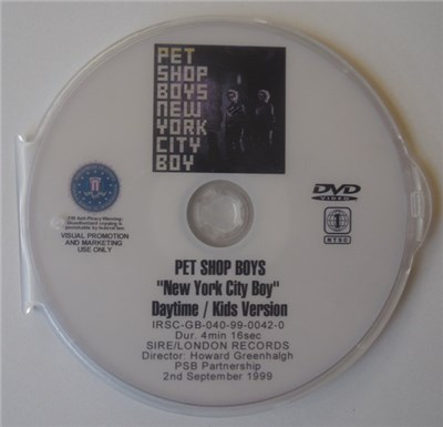 Pet Shop Boys - New York City Boy album mp3
