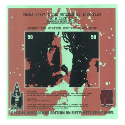 Frank Zappa & The Mothers Of Invention - The Wizard Of Z album mp3