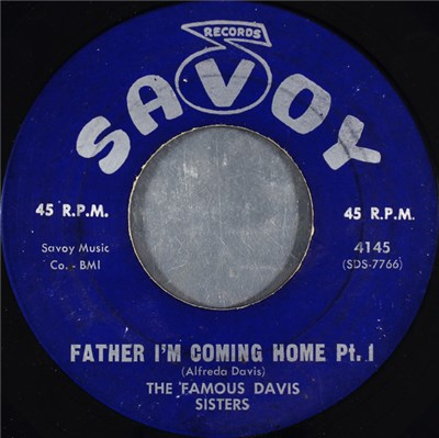 The Famous Davis Sisters - Father I'm Coming Home album mp3