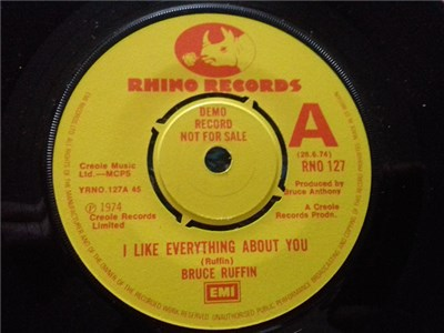 Bruce Ruffin / The Bruce Ruffin Orchestra - I Like Everything About You / I'm Depending On You album mp3