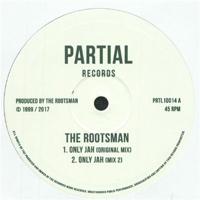 The Rootsman Feat. Jah Meek - Only Jah (Original Mix) / Jah Lifted Me Up album mp3