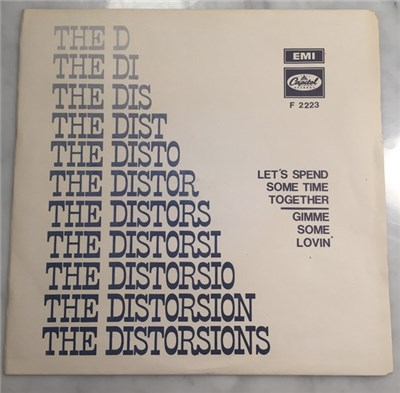 The Distortions - Let's Spend Some Time Together / Gimme Some Lovin' album mp3