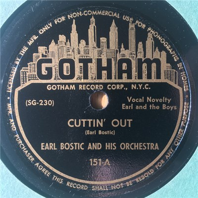 Earl Bostic And His Orchestra - Cuttin' Out / Here Goes album mp3