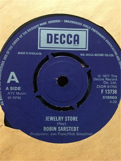 Robin Sarstedt - Jewelry Store album mp3