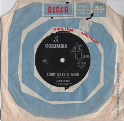 Alma Cogan - Eight Days A Week album mp3