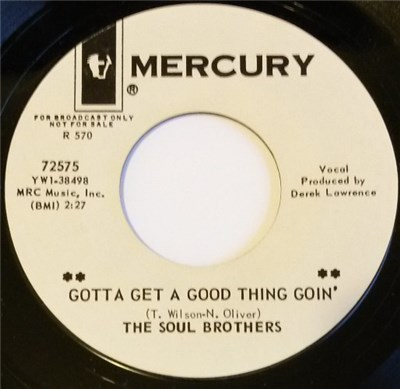 The Soul Brothers - Gotta Get A Good Thing Goin' / Good Lovin' Never Hurt album mp3