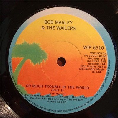 Bob Marley & The Wailers - So Much Trouble In The World album mp3