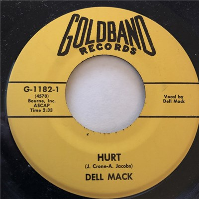 Dell Mack - Hurt / Ship Of Broken Hearts album mp3