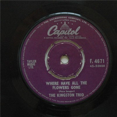 The Kingston Trio - Where Have All The Flowers Gone album mp3