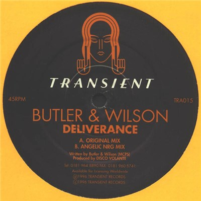 Butler & Wilson - Deliverance album mp3