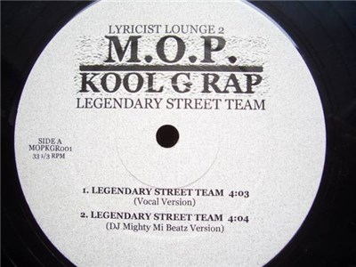 M.O.P. & Kool G Rap - Legendary Street Team album mp3